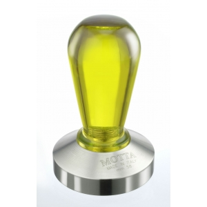 Tamper - Motta - Plastic Handle - Yellow - 58 mm
