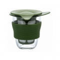 HARIO Handy Tea Maker 200ml Olive Green