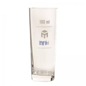 Pahar Gradat cu buletin de metrologie - 100 / 50 ml.