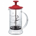 HARIO Coffee & Tea Press Slim S Red 240ml