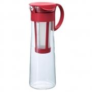 HARIO Coffee Jug w/filter 1000ml - Rosu
