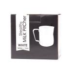 Barista Milk Pitcher - White 360 ml - Rhinowares