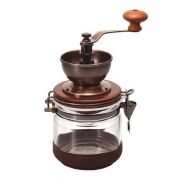 "HARIO Ceramic Coffee Mill ""Canister"" - B-Stock - Resigilat"