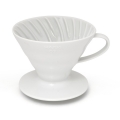 HARIO Coffee Dripper Ceramic V60 TIP-01 White