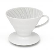 HARIO Coffee Dripper Ceramic V60 TIP-01 White