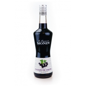Lichior Monin - Cassis de Dijon - Coacaze Negre - ( Blackcurrant) 16% 70 cl