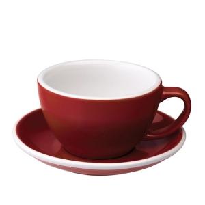 Loveramics Egg - Ceasca Café Latte 300 ml - Red