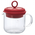 HARIO Tea Maker Pull-Up 350ml Red