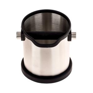 Knock Box Deluxe Round  - Ø 17 cm - Inox