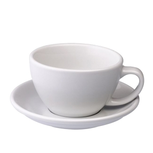 Loveramics Egg - Ceasca Café Latte 300 ml - White