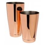 Boston Shaker cu greutate TIN+TIN - Rose Gold - Copper