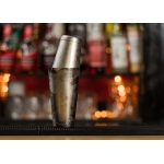 Boston Shaker cu greutate TIN+TIN - Inox