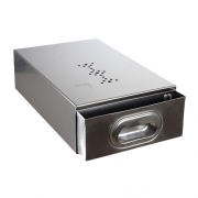 Knock Drawer - Tanc de zat - Inox - 380x240x1...