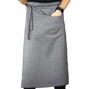 Old Day SJP Grey Cotton Waist Apron - 73x83 cm