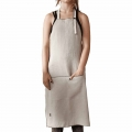 Sand FL Light Linen Full Length Apron - 60x94 cm