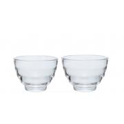 HARIO Tea Cup Set Yunomi glass 85ml - 2buc/set