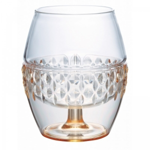 HARIO Hot Drink Glass Silver - 260ml
