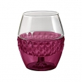 HARIO Hot Drink Glass Red - 260ml