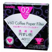 Filtru Hario V60 - Marime 02 - 40 buc