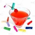 Mini Garnish Clips - Colorate - 48buc/pachet