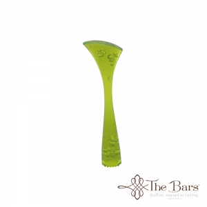 Muddler Ribbed Green Fluorescent
