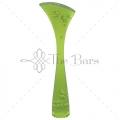 B002G - Muddler Ribbed Green Fluorescent