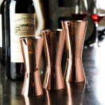 Aero Wine Measure 125ml - Copper - Pahar Gradat pentru vin