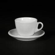 Cesti de Cappuccino + Farfurii - 170ml - Apulum - White