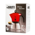 Moka Pot - Bialetti Moka Induction 6tz - Rosu