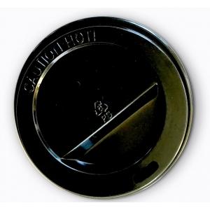 Capace pahare carton mici 6oz/150/190ml - 50buc - Negru