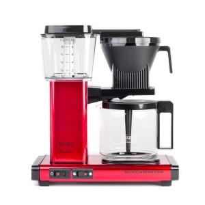 Cafetiera MOCCAMASTER KBG 741 AO - Red Metallic
