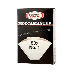 Filtre MOCCAMASTER Nr.1 - 80buc/set