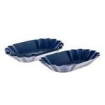 Rattleware Cupping Tray Oval - 12buc/set - Albastru