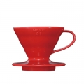 HARIO Coffee Dripper Ceramic V60 TIP-01 Red