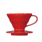 HARIO Coffee Dripper Ceramic V60 TIP-01 Red