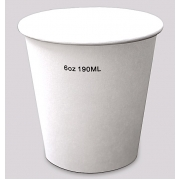 Pahare To Go 6 OZ - 150/190ml - Alb - 50buc/set