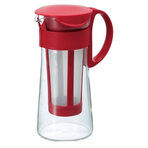HARIO Coffee Jug w/filter 600ml - Rosu