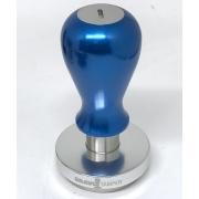 Bravo Tamper - 58.5mm - Maner metal - Blue