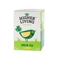 Higher Living Green Tea Lemon - 20 plicuri