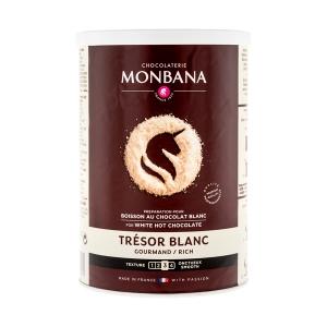 Ciocolata Calda - Monbana Tresor White Chocolate - 500g