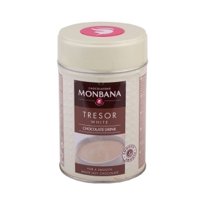 Ciocolata Calda - Monbana Tresor White Chocolate - 200g