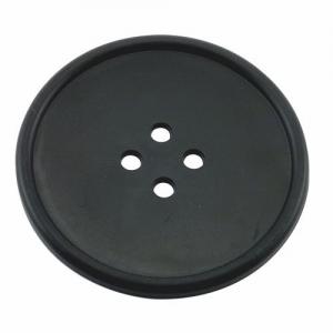 D001B - Drink Coaster - Suport Pahar - Button - Black