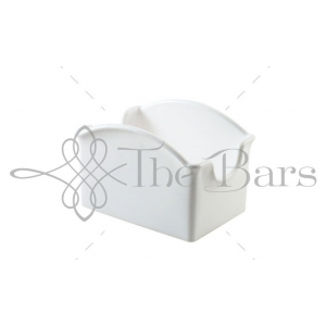 C010W - Suport zahar / ceai / miere - Alb