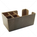 B001WD - Bar Organizer - Bar Caddy - Wood ECO