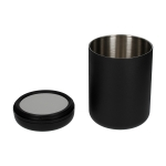 Fellow Atmos Vacuum Canister - 1.2l Matte Black Steel