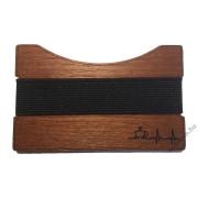 Portofel pentru carduri din lemn - Tadamm