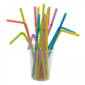 Paie Groase - Colorate - Flexibile - 500 Buc