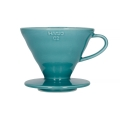Hario V60-02 Ceramic Coffee Dripper Turquoise...