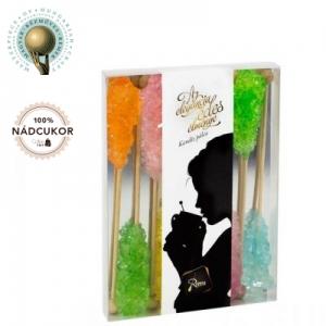 Zahar candel colorat - 100buc / cutie