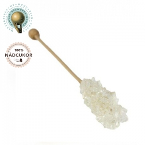 Zahar candel alb - Lung - 100buc / cutie - AMBALAT INDIVIDUAL
